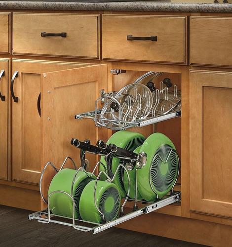 organizador de alacena cocina rev-a-shelf importado