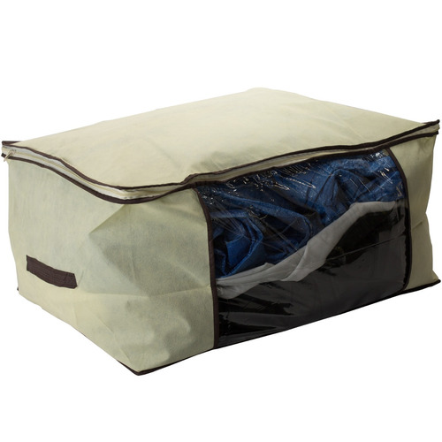 organizador de armário para roupas de cama e toalhas - th
