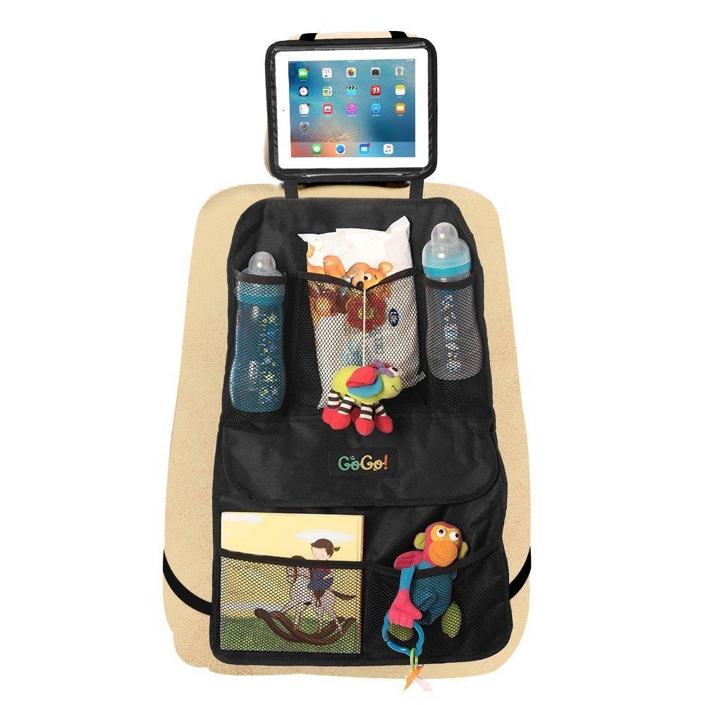 Organizador de asiento trasero para coche para ni os con for Asientos infantiles coche