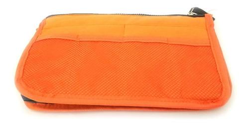 organizador de bolsa laranja - pronta entrega