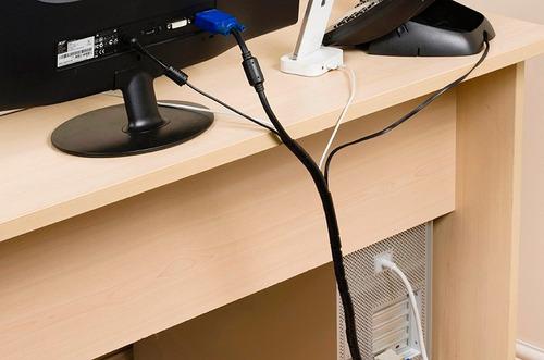 organizador de cable espiral 25 mm x 2.00 mts