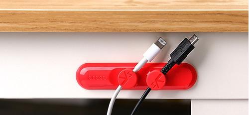organizador de cables iphone android coteetci® magnetico