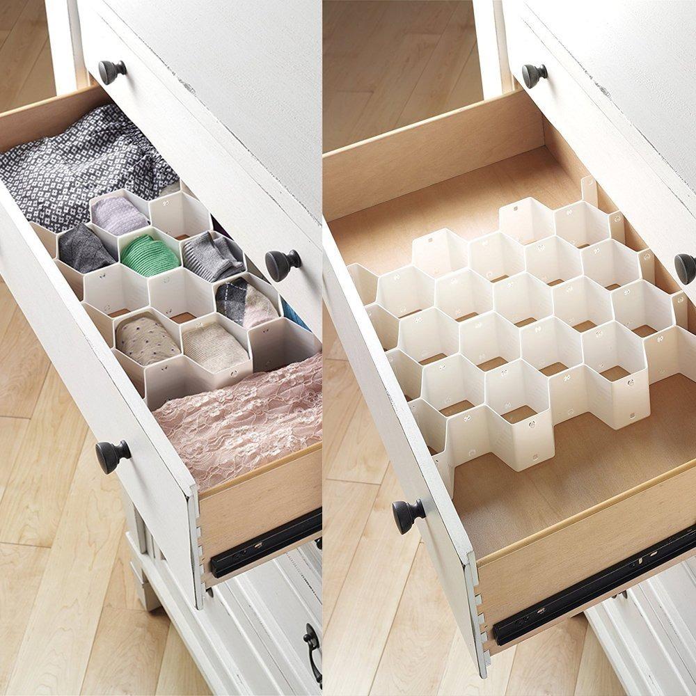 Organizador de cajon para bufandas calcetines corbatas etc - Organizador cajon oficina ...