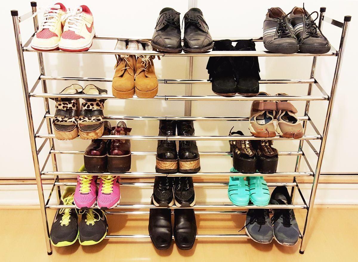 Ueetek 16 bolsillos colgantes puerta placard colgante bolso zapato rack colgador ropa interior - Organizador de zapatos ...