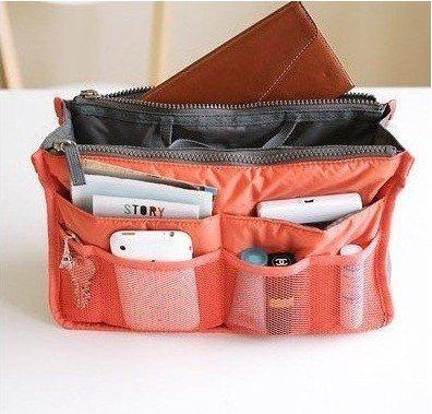 organizador de cartera viaje bolso neceser. 14 colores!