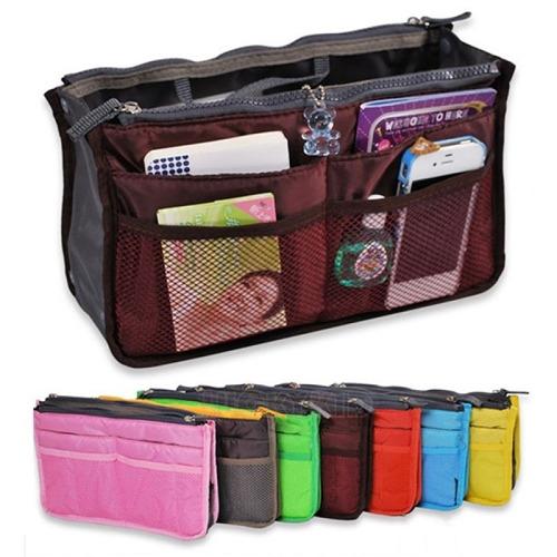 organizador de carteras bolso para el interior de la cartera