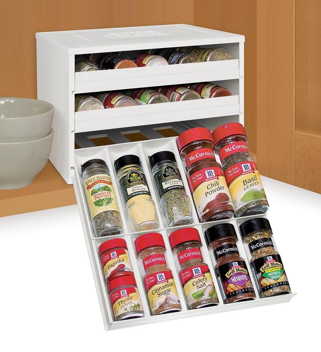 Organizador De Condimentos Especiero Capacidad 30 Envases