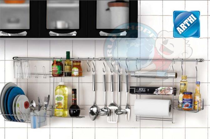 Organizador de cozinha cook home 1 c porta rolos temperos - Organizador de armarios ...