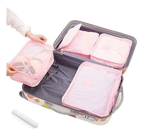 organizador de equipaje de viaje organizador de ropa bolsa d