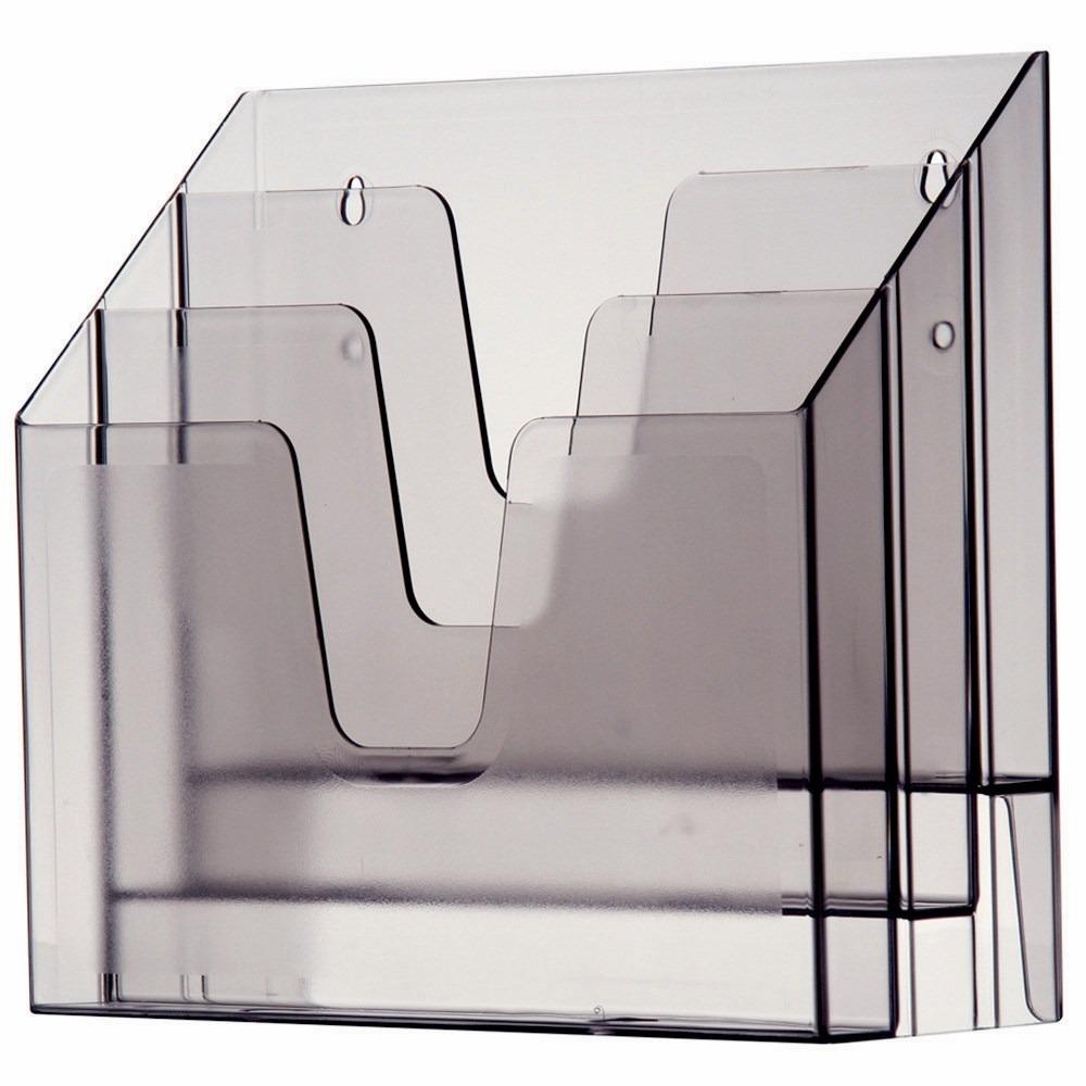 Organizador de escrit rio acrimet 860 0 tripla vertical pare r 99 00 em mercado livre - Organizadores escritorio ...