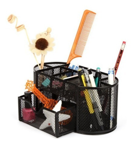 organizador de escritorio metal mesh office pen pencil holde