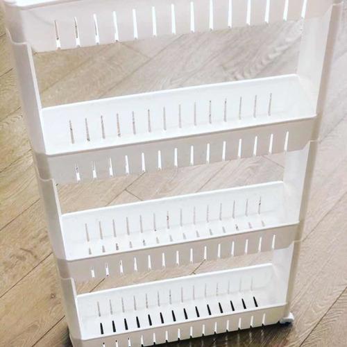 organizador de espacios reducidos pvc blanco 4 pisos rxl
