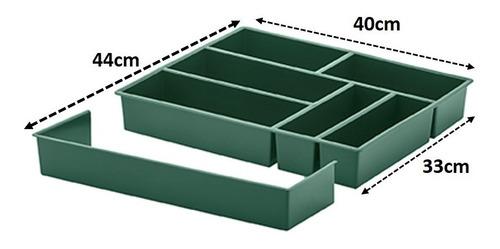 organizador de gaveta extensível divisor talheres utensílios