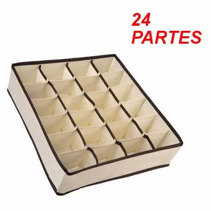 organizador de gavetas calcinha sutiã cuecas meias 24 partes