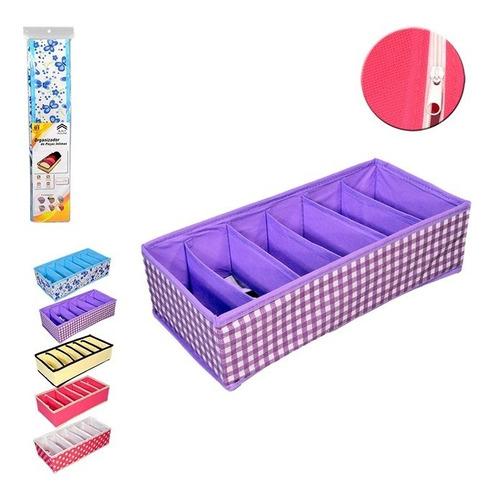 organizador de gavetas para 6 sutia  soutien e lencos caixa