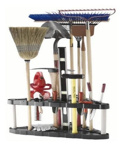 organizador de herramientas de jardin, marca plano molding
