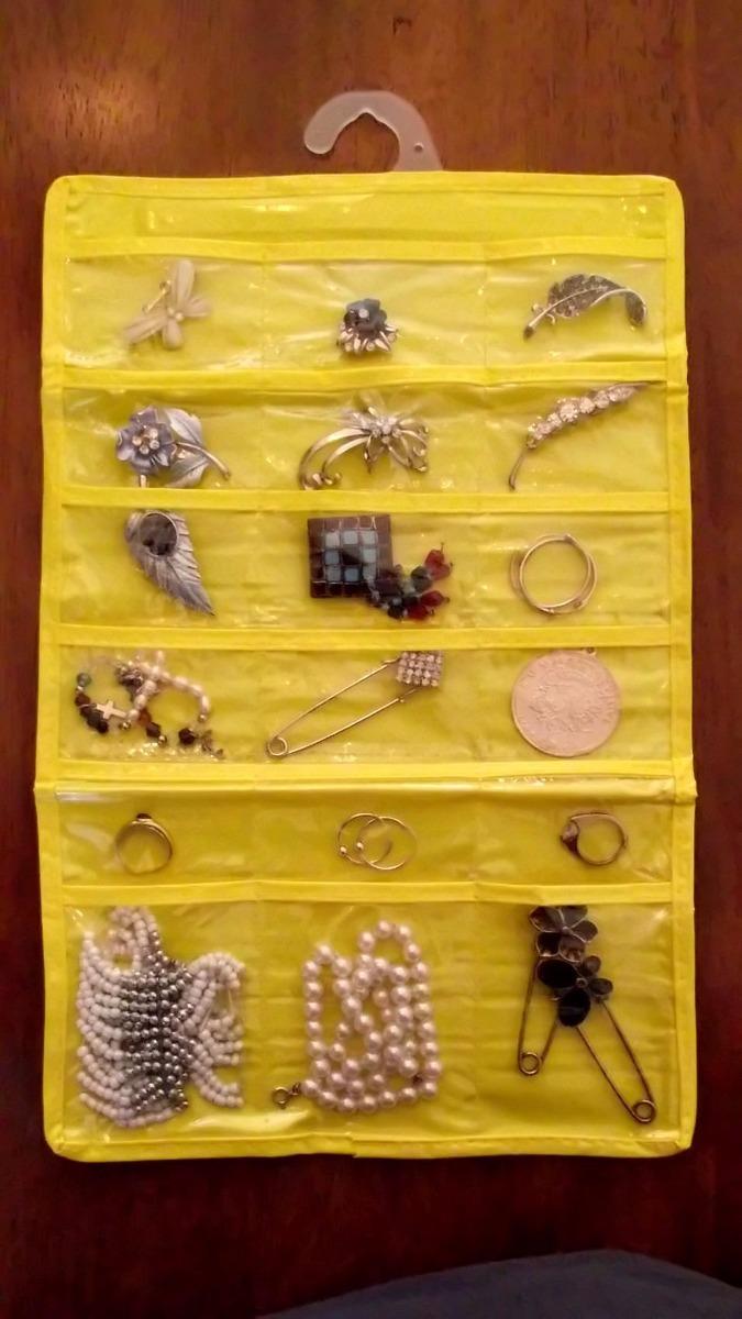 organizador de joyas collares anillos pulseras aros