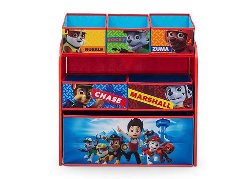 organizador de juguetes delta children nick jr. paw patrol