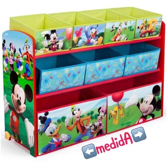 Organizador de juguetes juguetero deluxe mickey mouse nb - Organizador de juguetes ...