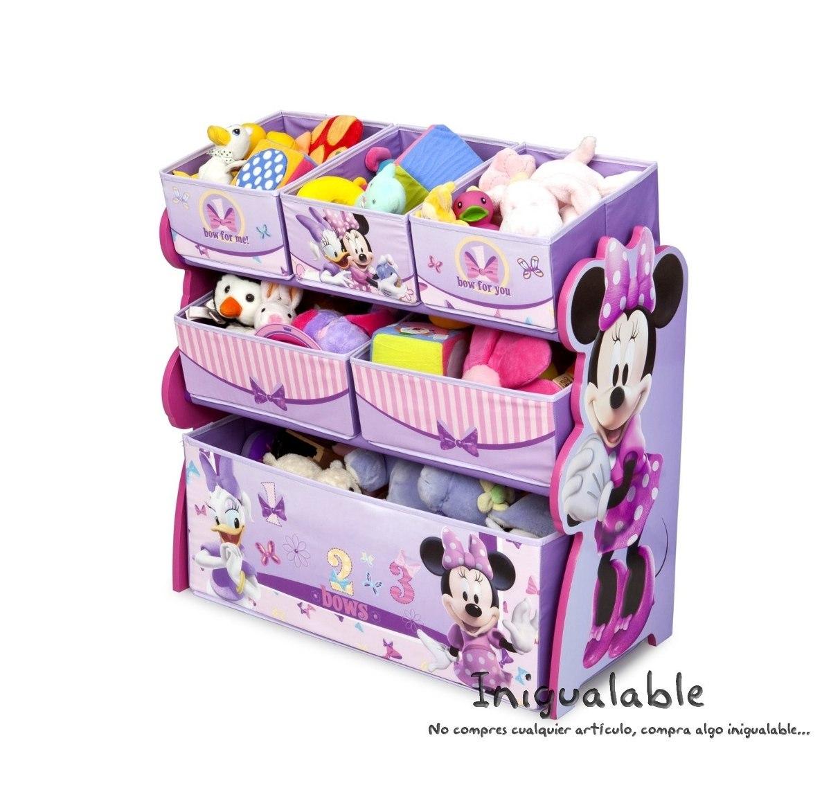 Organizador de juguetes para ni as de minnie mouse - Cosas para guardar juguetes ...