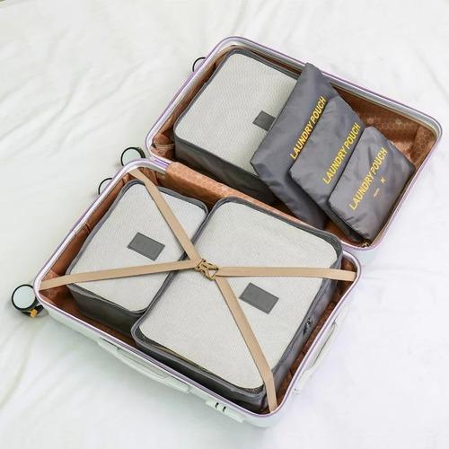 organizador de maleta de viaje neceseres