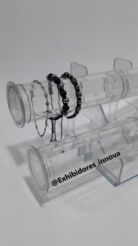 organizador de manilla x2, exhidor, vitrina, acrilico