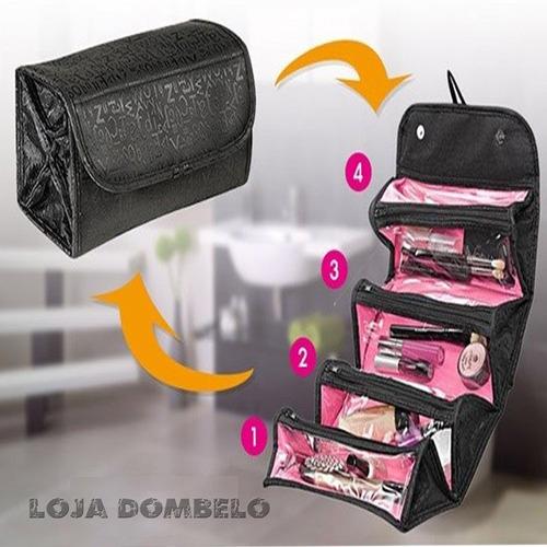 organizador de maquiagem importada estojo maleta esmaltes