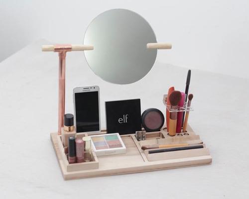 organizador de maquillaje / cosméticos vier (regalo)