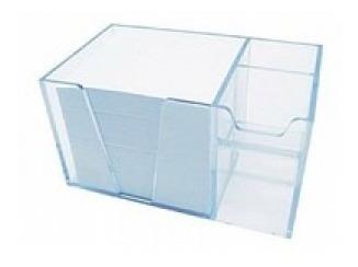 organizador de mesa com papel cristal acrimet