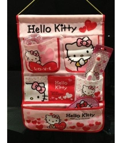 organizador de pared hello kitty