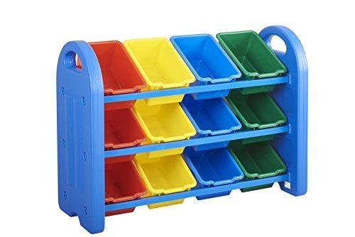 organizador de plástico de almacenamiento  con bins ecr4ki