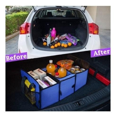 organizador de porta malas carro termico organizadora compra