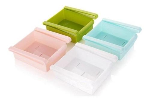 organizador de refrigerador tipo cajón variedad colores