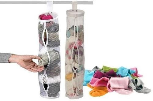 organizador de ropa interior medias colgante. para placares