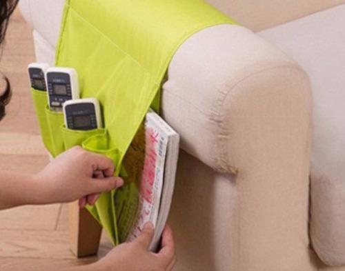organizador de sofa controles remoto