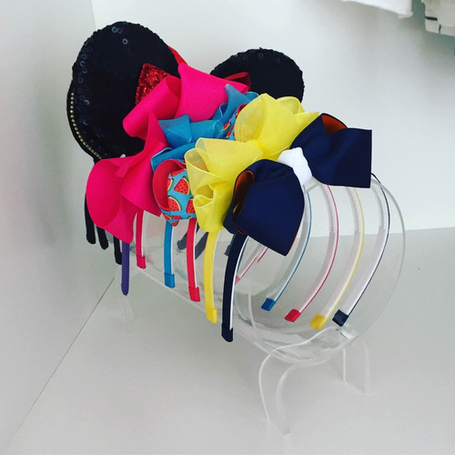 organizador de tiaras arquinhos de cabelo em acrílico promo
