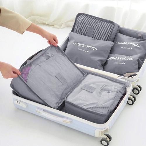 organizador de valija 6 en 1 equipaje viaje