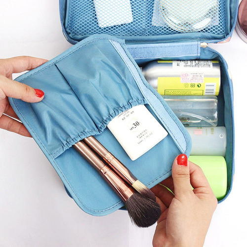 organizador de viaje estuche cosmetiquera neceser