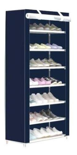 organizador de zapatos 7 pisos 21 pares con funda de diseño