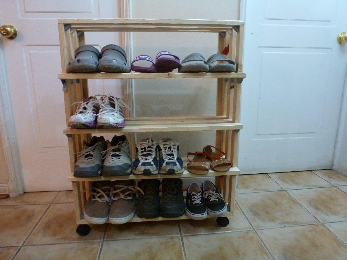 organizador de zapatos artesanal en mercado libre