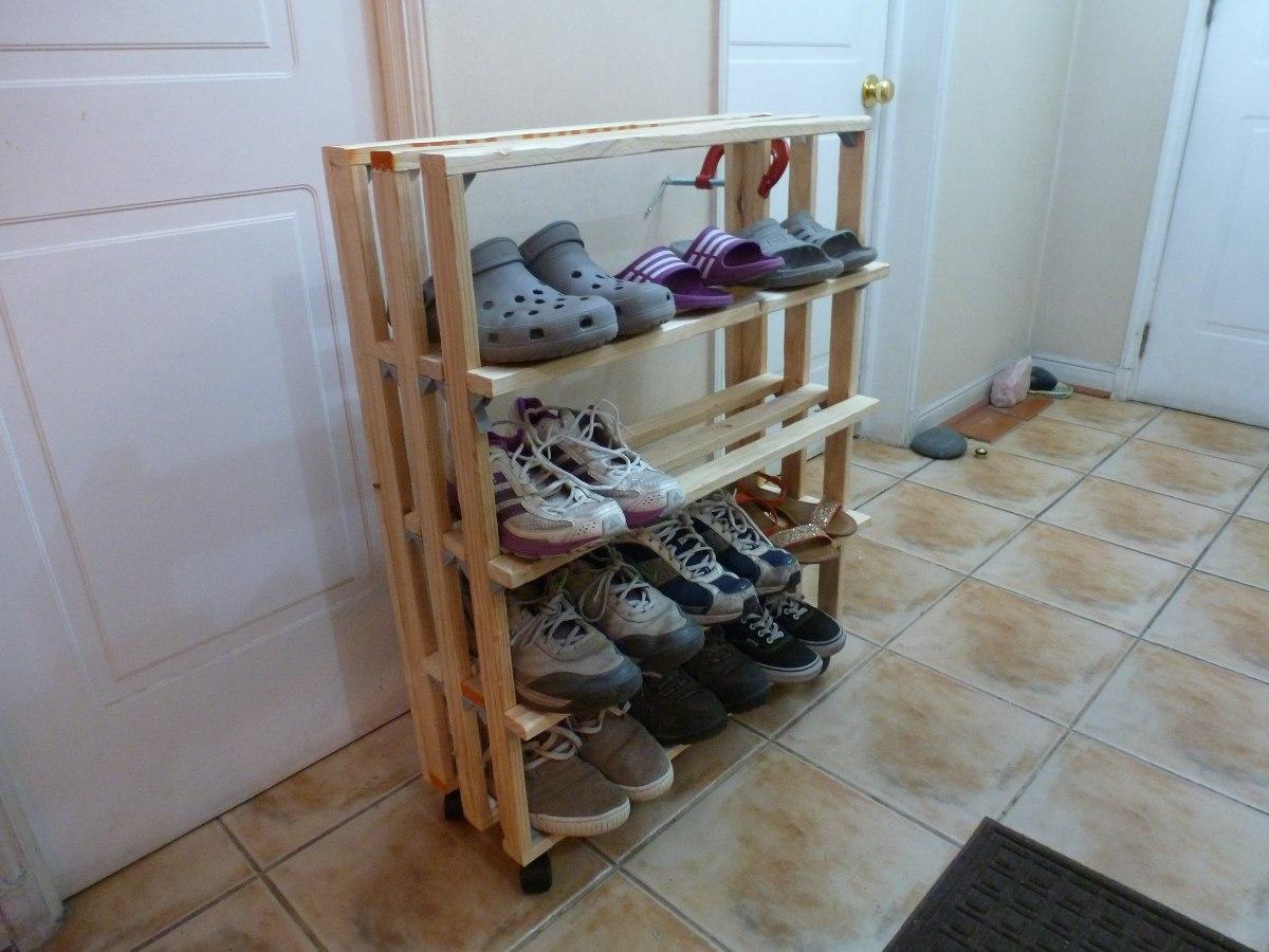 Organizador de zapatos artesanal en mercado libre - Organizador de zapatos ...