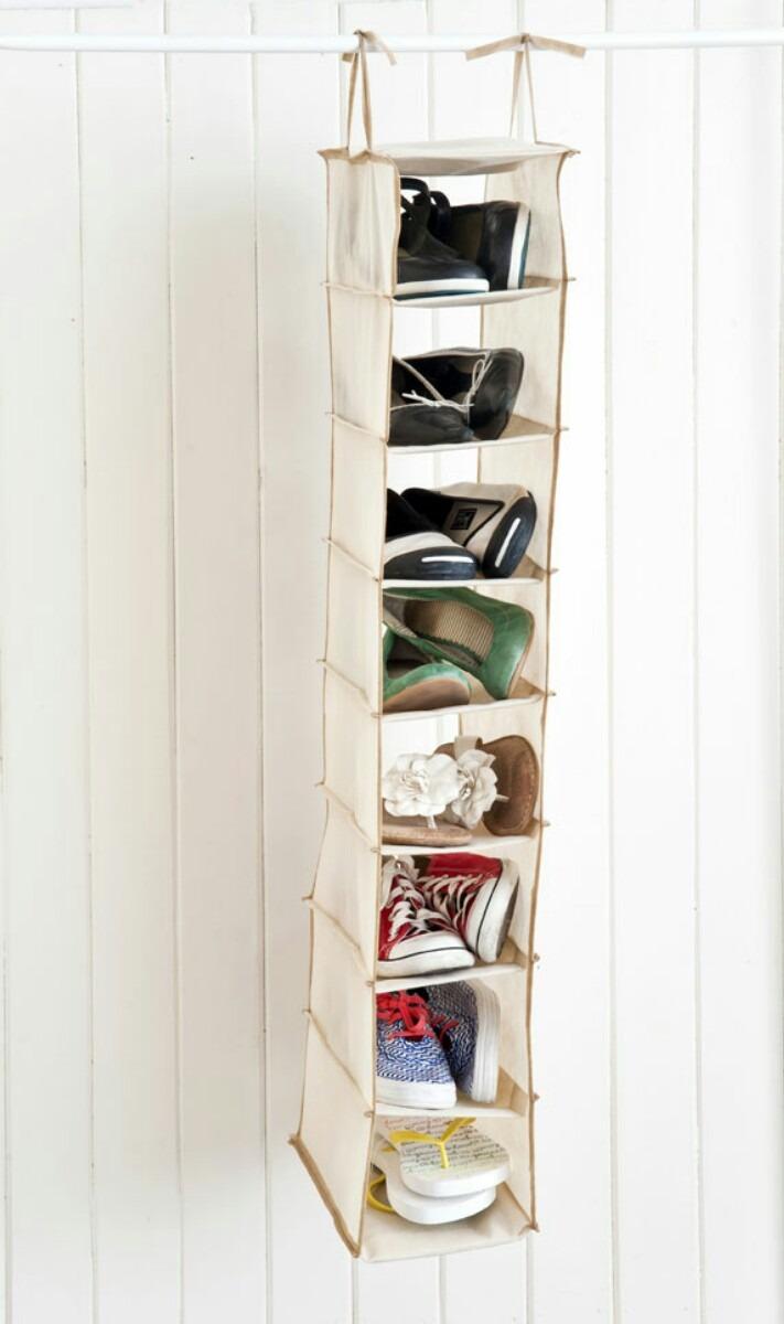 Organizador De Zapatos Colgante. Cargando Zoom.