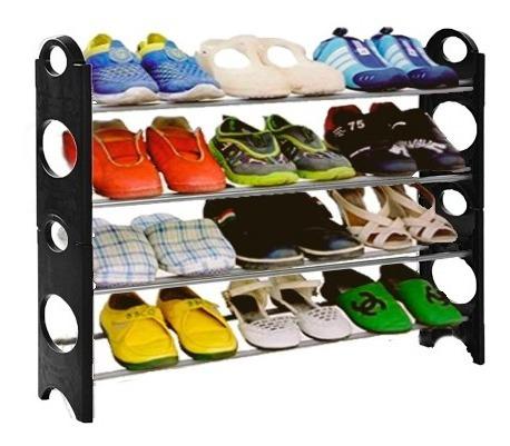 organizador de zapatos rack zapatero 24 zapatos = 12 pares