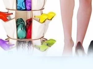 organizador de zapatos y carteras, bolsos, ropa.