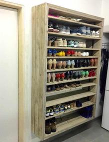Organizador De Zapatos Zapatero De Palet Pallet Reciclado