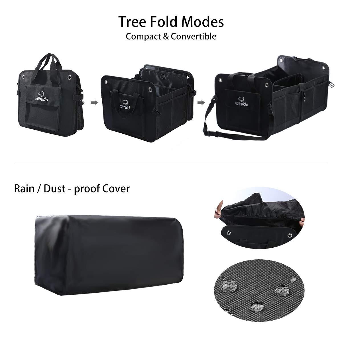 color tree Organizador para Maletero de Coche con 4 Bolsillos Ajustables