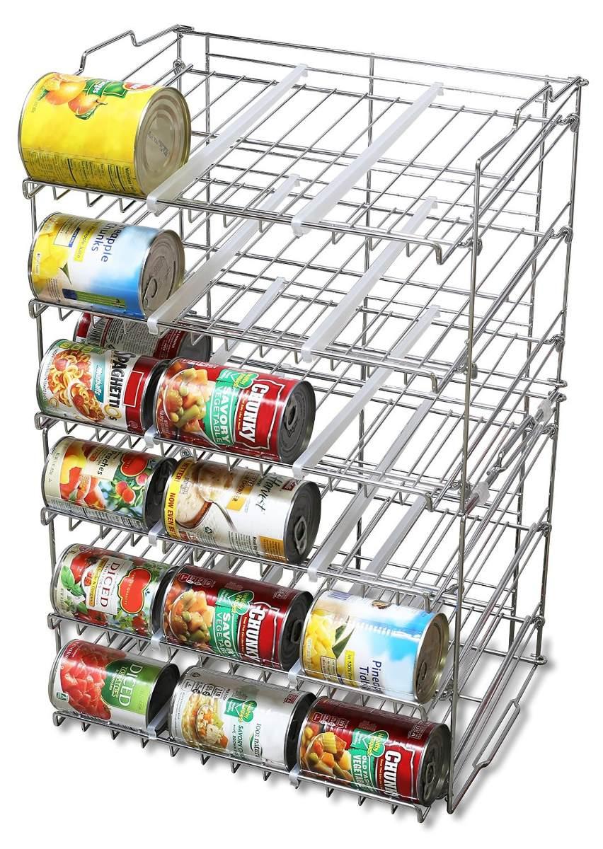 Organizador dispensador latas comida alacena despensa - Dispensador de latas ...