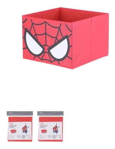 organizador dobrável miniso marvel - homem aranha