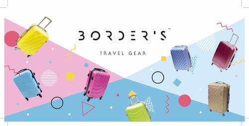 organizador documentos viaje rosa viaje