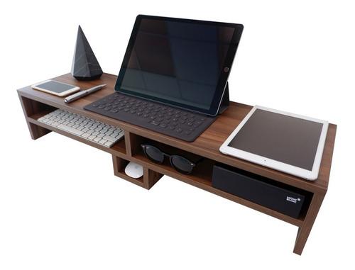 organizador escritorio soporte monitor imac monitor ipad